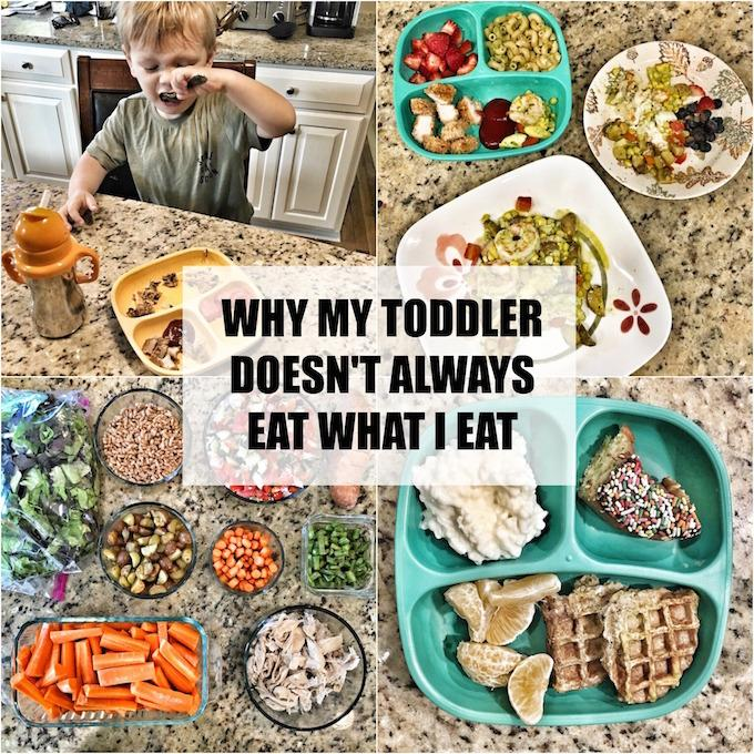 How a Registered Dietitian approaches feeding her toddler dinner.