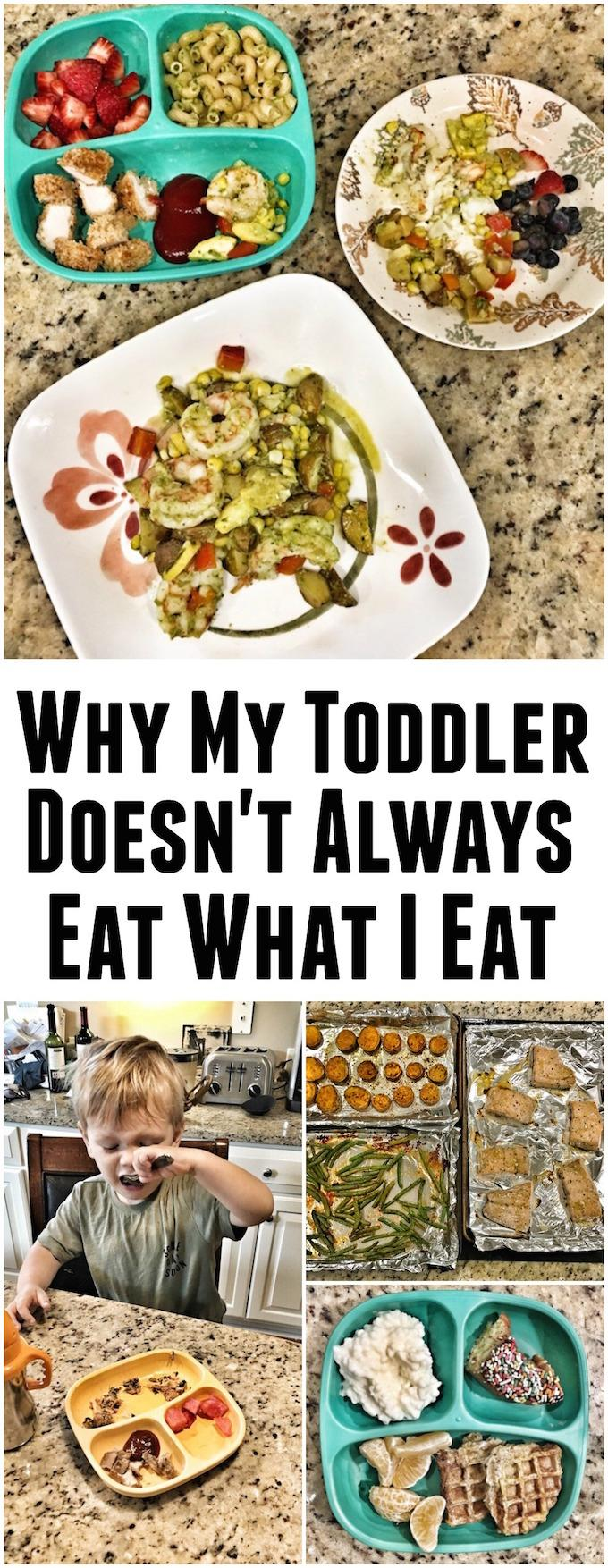 If you're looking for tips for feeding toddlers, here's my approach as a Registered Dietitian. Spoiler alert- sometimes I serve two different meals!