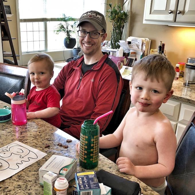 Type 1 Diabetes at age 33, with kids