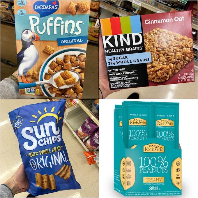 puffins, kind, sun chips, crazy richards