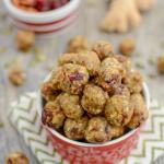 Cranberry Ginger Energy Bites 1