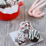 No Bake Peppermint Chocolate Bites 1