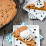 Pumpkin Skillet Cake 9