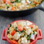Skillet Mediterranean Chicken Pasta 3