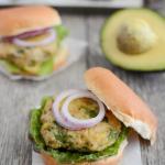 avocado chicken burgers 1