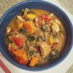 sausage lentil kale soup 1
