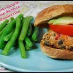 sweet potato quinoa black bean burgers e1353804143584