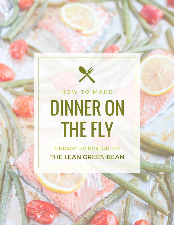 Dinner on the fly ebook