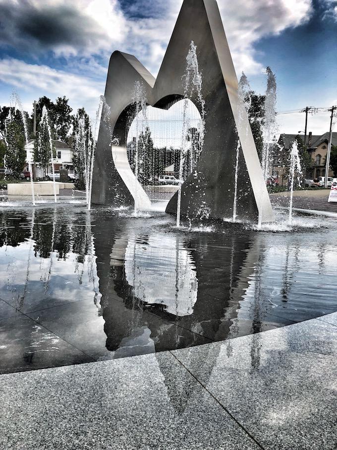 Marcum park fountains