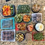 A Week of Component Food Prep and How To Use It