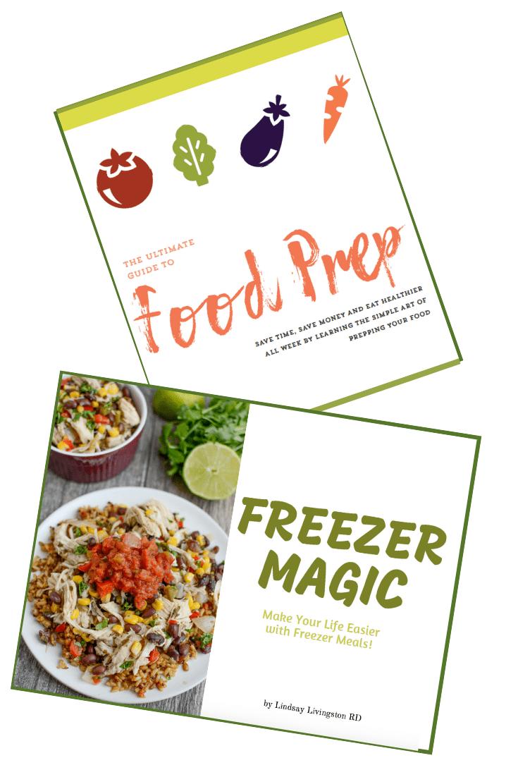 food prep and freezer prep ebooks