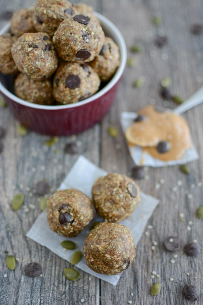 Go-To Energy Ball Recipe great for kids or snack for breastfeeding moms