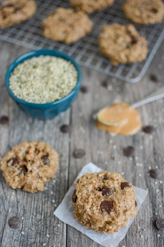 Peanut Butter Hemp Cookies