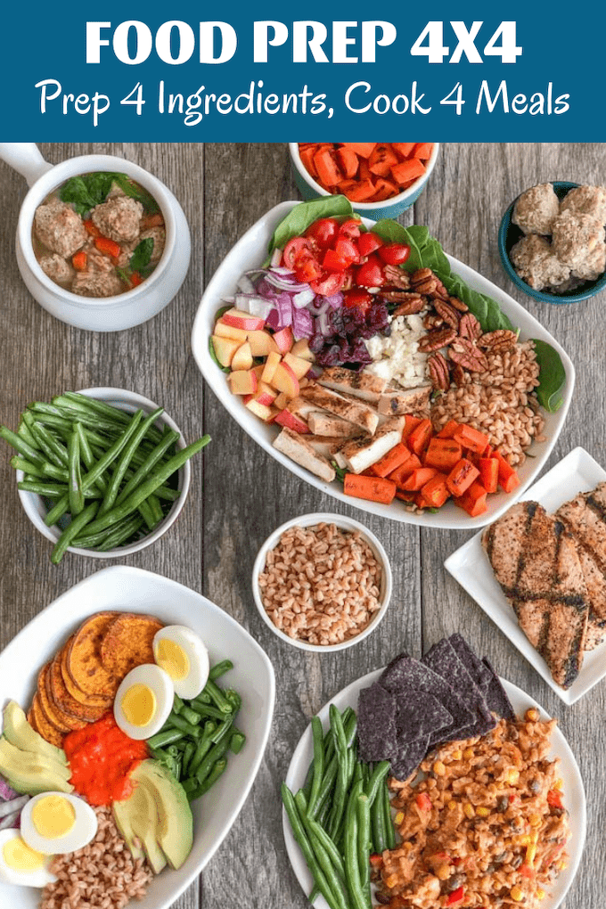 These Easy Farro Recipes can be made quickly throughout the week after prepping four simple ingredients during your food prep session. Component food prep is the key to saving you time during the week while still keeping your meal plan flexible.