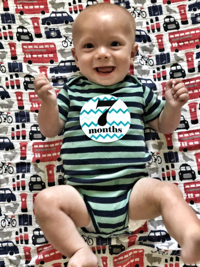 baby seven months