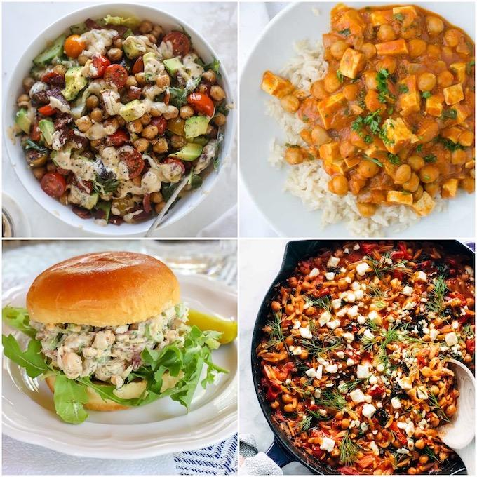 easy chickpea recipes