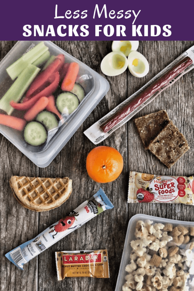 Low Mess Snack for Kids
