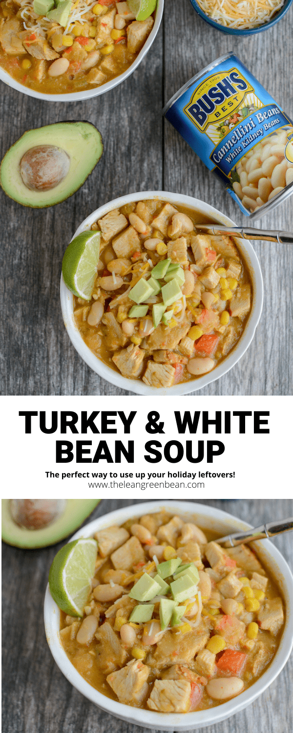 This Leftover Turkey and White Bean Soup is perfect for transforming holiday leftovers into a new meal. Or make it with chicken any time of year!
