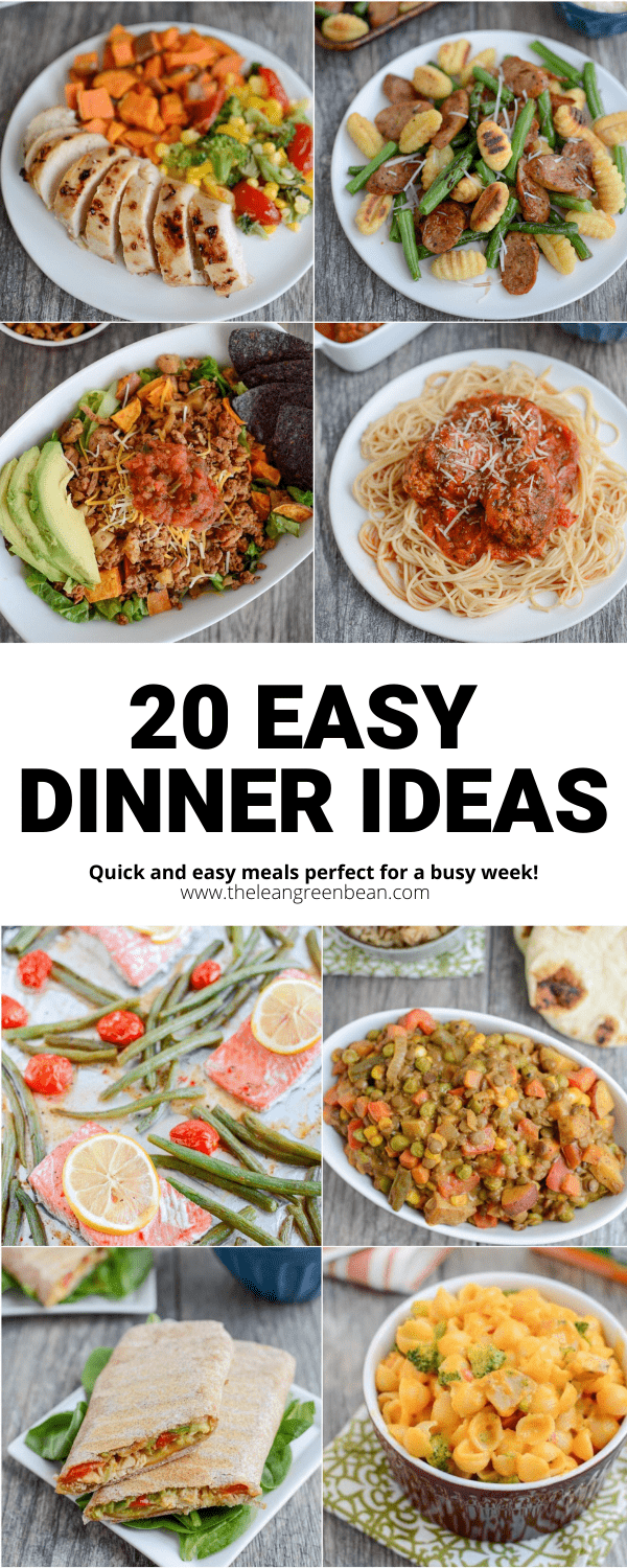 Are you looking for easy dinner ideas for those nights you don't feel like cooking? Here's a round-up on super simple meals that you can make without much time, effort or brainpower.