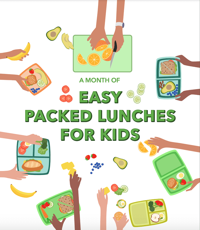 easy packed lunches for kids