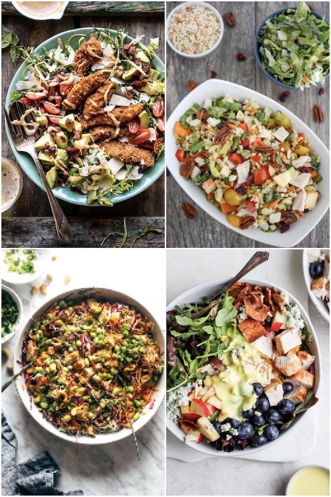 salad ideas with chicken