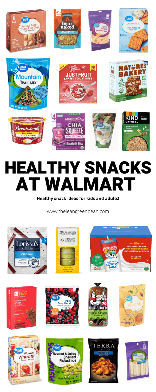 Looking for the best healthy Walmart snacks? Here are some ideas for everything from chips, crackers, granola bars and more.