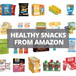 healthy snacks from amazon