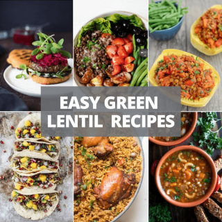 easy green lentil recipes
