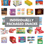 individually wrapped snacks