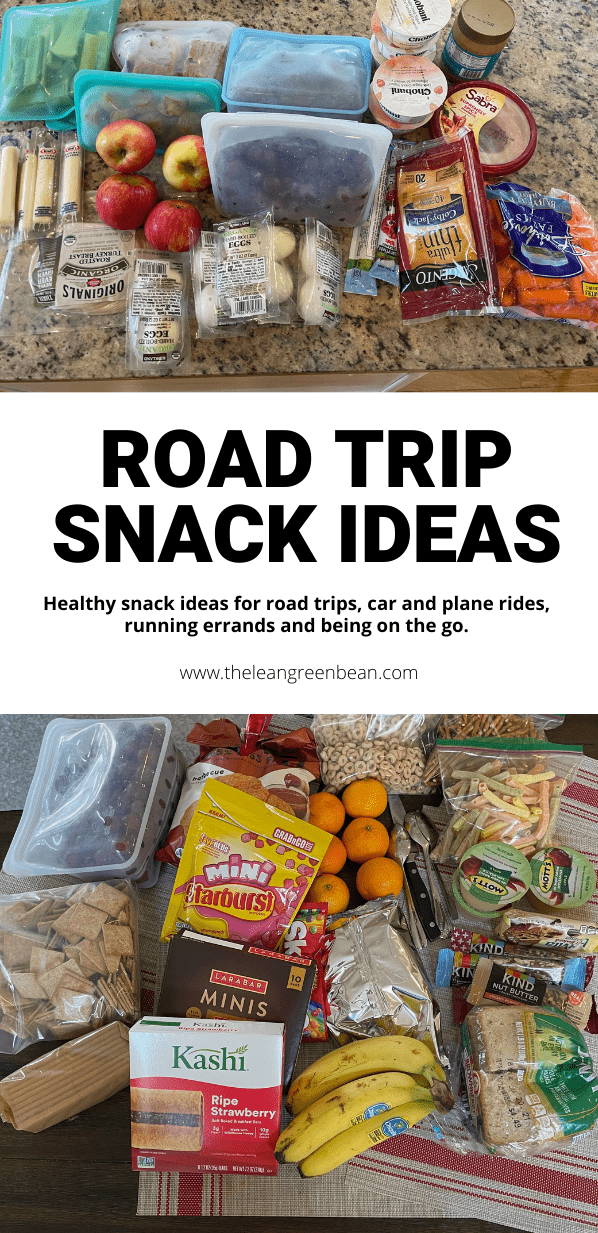 Need some healthy road trip snacks? Or just some on the go snacks? Whether it's vacation, driving to sports practice or a day of running errands, here are some travel snacks you'll love!