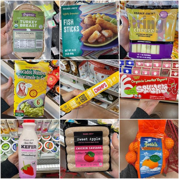 healthy snacks at trader joes