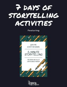 7 Days of Storytelling Activities