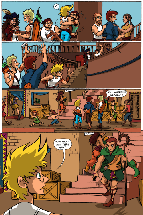 the legend of jamie roberts genderqueer pirates webcomic page 22
