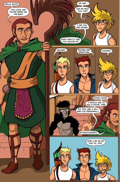 the legend of jamie roberts lgbtq genderqueer webcomic page 23