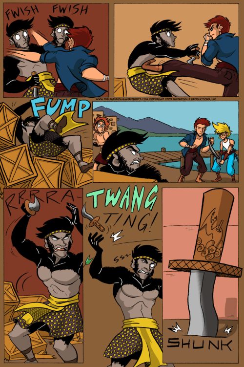the legend of jamie roberts lgbtq genderqueer pirate comic page 25