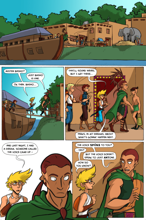 the legend of jamie roberts lgbtq genderqueer pirate adventure webcomic page 56