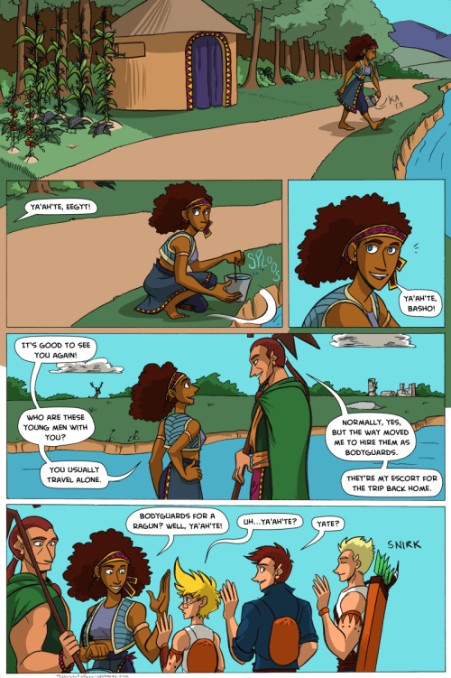 the legend of jamie roberts lgbtq pirate adventure webcomic page 64