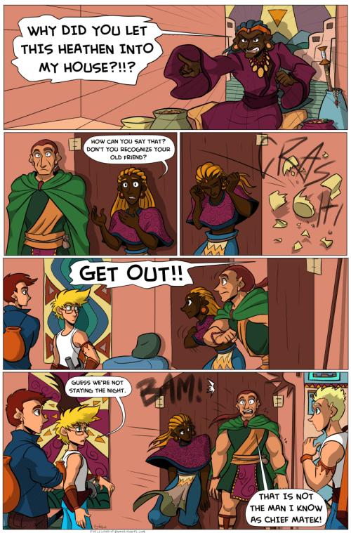 the legend of jamie roberts lgbtq genderqueer pirate adventure webcomic page 84