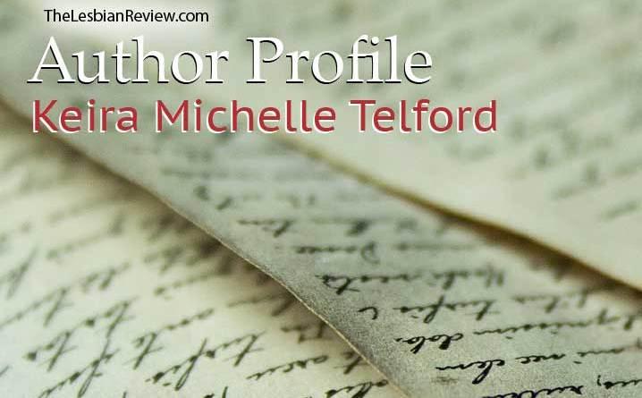 lesbian author Keira Michele Telford