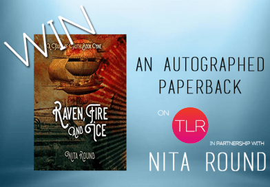 Win a Signed Paperback of Raven, Fire And Ice by Nita Round