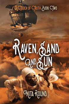 Raven Sand and Sun by Nita Round