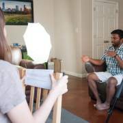 Still image from filming our Marin Partner video.
