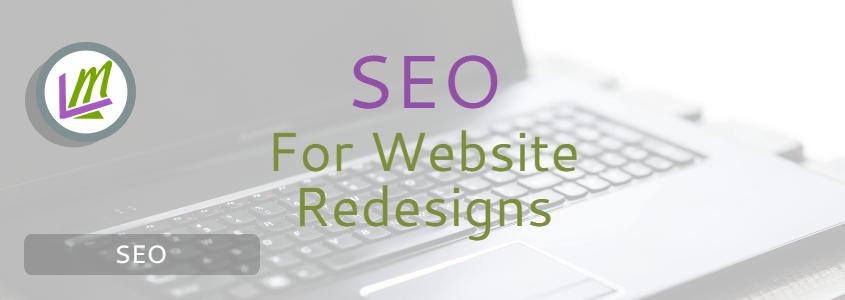 website redesign SEO