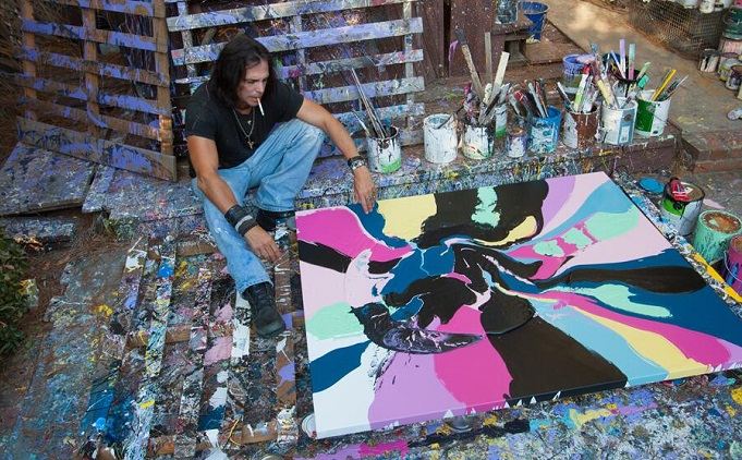 Iconic Actor Richard Grieco Is Back On Canvas The Levity Ball