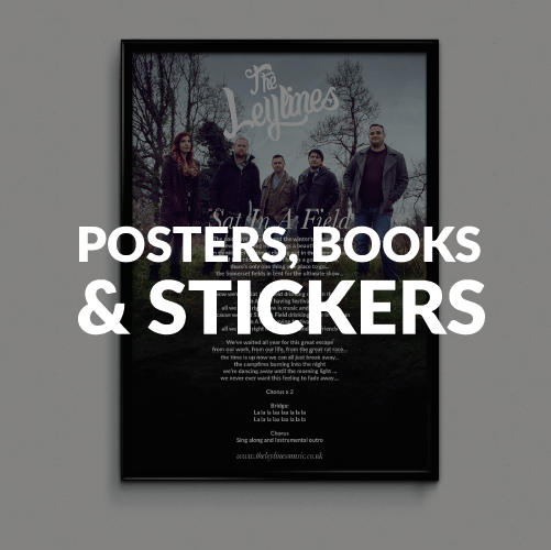 Posters, Books & Stickers...etc