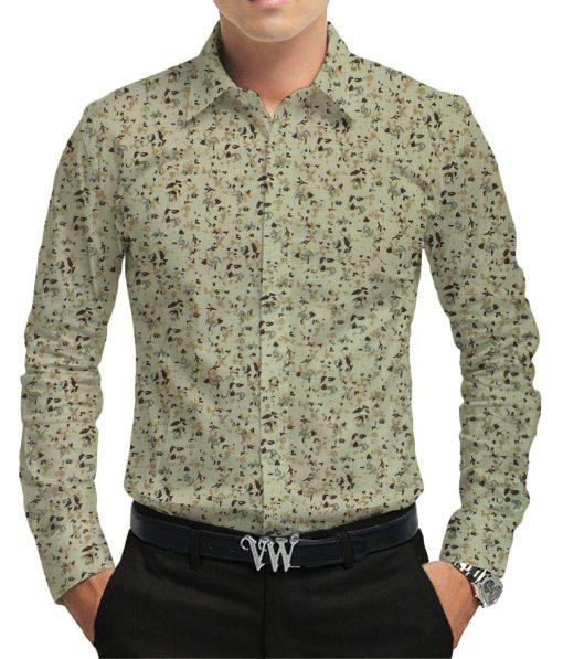 Reid & Taylor Trouser & Exquisite Khadi Look Shirt Fabric