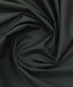 Saville & Young (S&Y) Black 100% Giza Cotton Structured Print Trouser Fabric (Unstitched - 1.30 Mtr)
