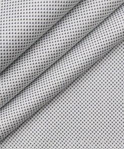 Nemesis White 100% Giza Cotton Printed Shirt Fabric (1.60 M)
