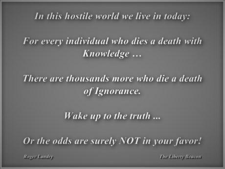 Death of Ignorance