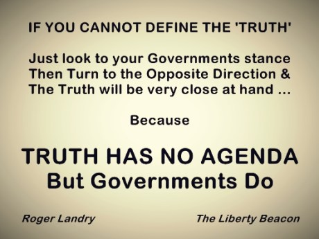 Truth has no agenda 01